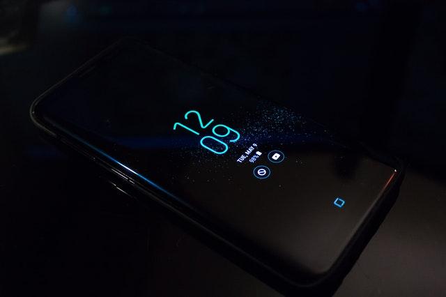 smart phone home screen