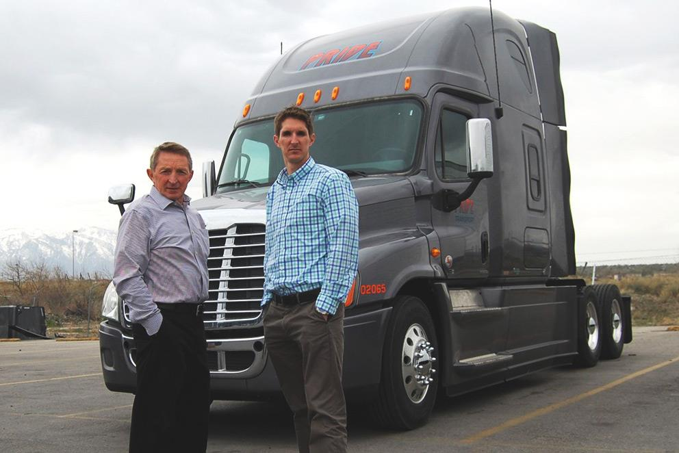 Jay England and Jeff England founder and CEO of Pride Transport
