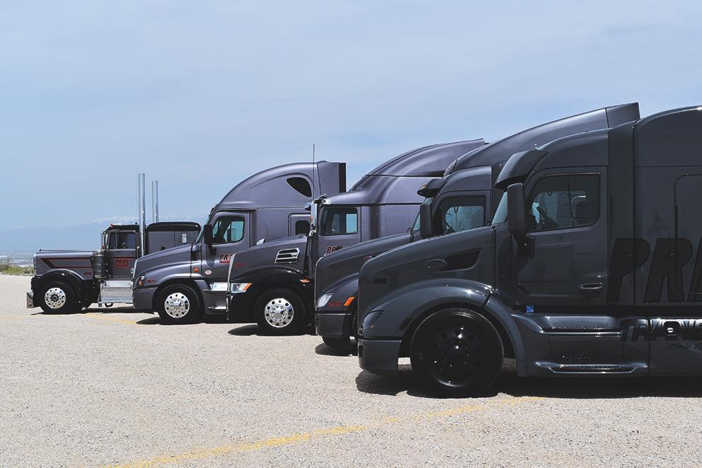 Pride Transport reaches 500 truck fleet mile stone