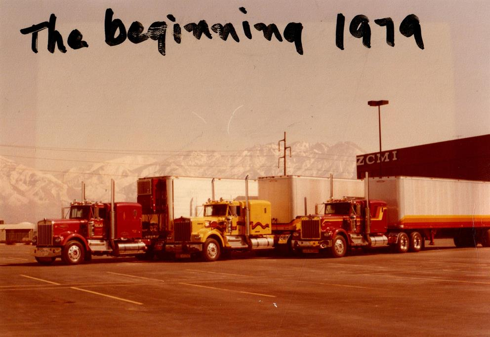 vintage semi trucks first trucks Pride Transport