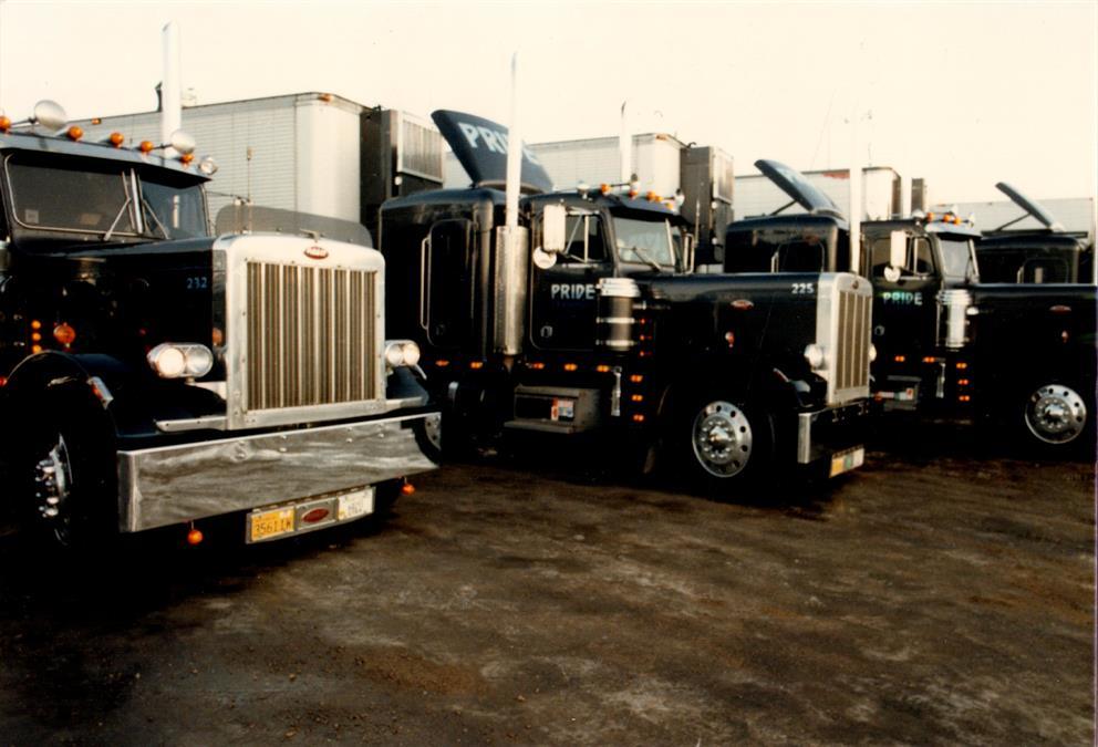 vintage pride transport semi tractor trailer fleet